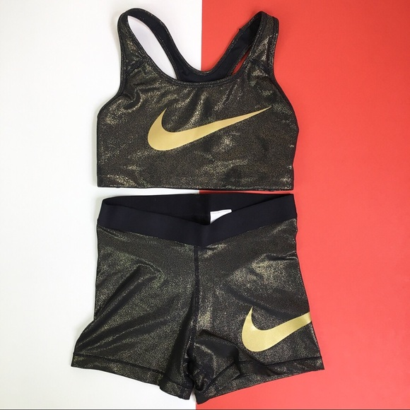 facd8f2c3a25 Nike Pro Gold Set. M 5b104becb7f72b784543417c